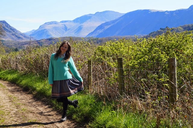 taking a ramble in a skirt