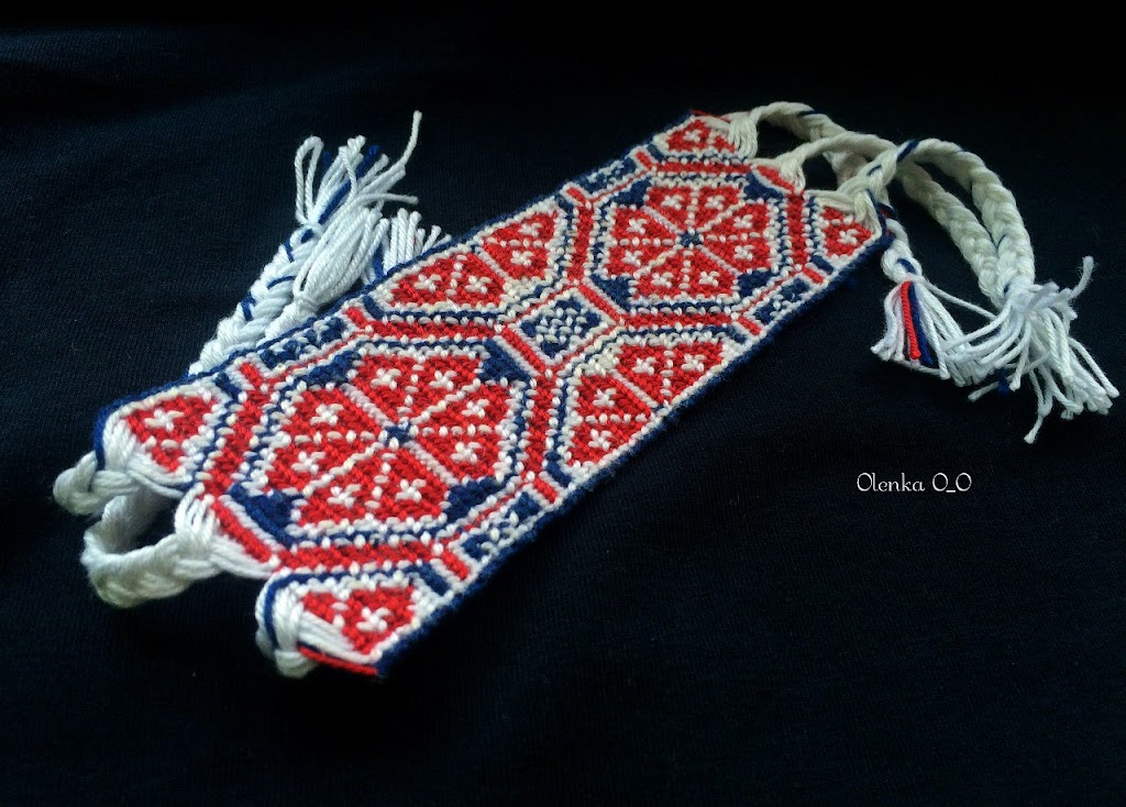 Схемы фенечек со славянскими
