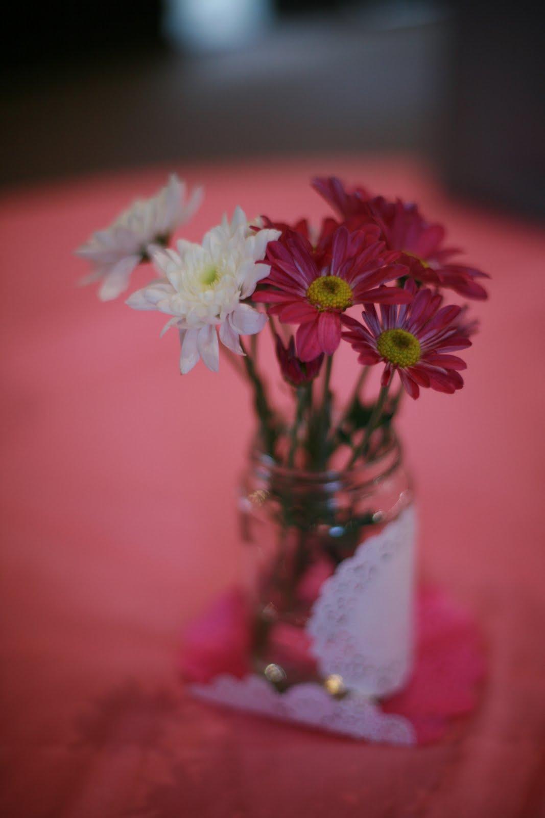 Kissy\'s blog: mason jar wedding centerpieces