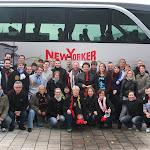 Mit dem Teambus auf den langen weg nach München (keine Spielszenen)