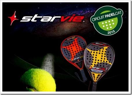 La firma Star Vie nuevo patrocinador premium del Circuito Padelcat 2015.
