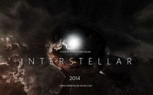 Poster Interstellar. Teori Fisika film Interstellar.