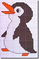 Pingüinos punto d cruz (3)
