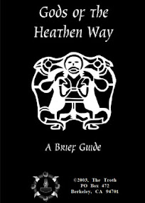 Cover of The Troth's Book Gods Of The Heaten Way A Brief Guide
