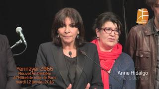 La mairie de Paris célèbre Yennayer 2966 avec la communauté amazigh