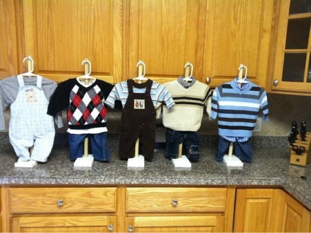 Ideas para tu fiesta centros de mesa baby shower