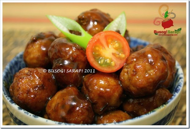 JAPANESE PORK MEATBALLS PIC1