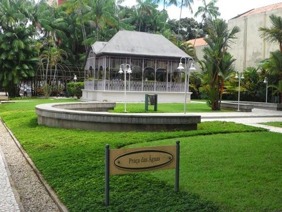 Coreto Pavilhão Frederico Rhossard - Belém do Parà, fonte: Papa Chibé pelo mundo