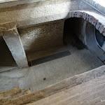 Familistère : musée, coupe, sous-sol et ventilation