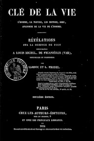Cover of Louis Michel de Figanieres's Book Cle de la Vie (1858,in French)