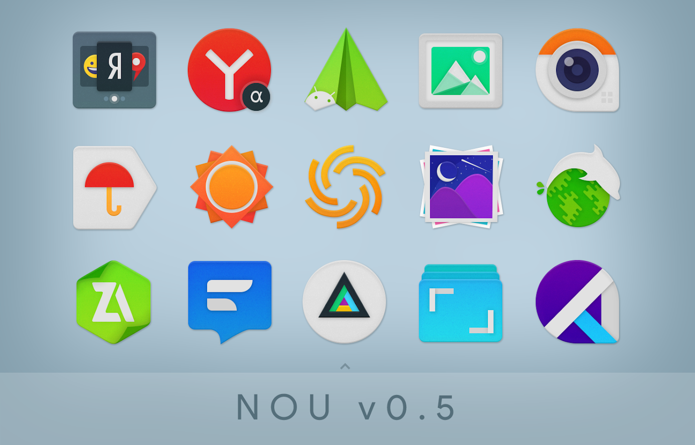 NOU - Icon Pack Screenshot 5