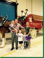 family clydesdales