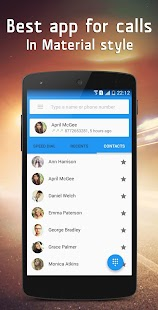 Material Dialer - Phone Screenshot