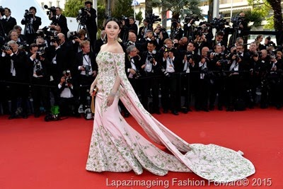 Fan Bingbing in Custom Ralph & Russo