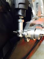 Custom brake pin