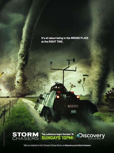 Dogonić Tornado / Storm Chasers  (Season 4-5) (2010-2011) PL.DVBRip.XviD-Sante/ Lektor PL