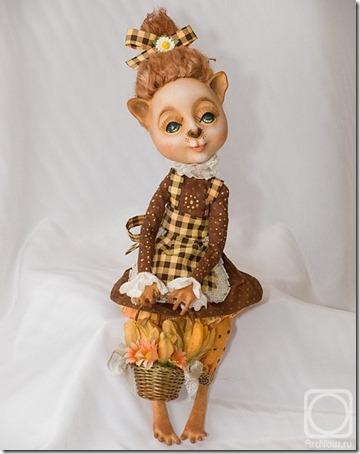 Muñecas de Nadezhda Sokolova Djembe  (17)