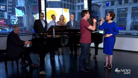 Lea Salonga and Brad Kane sing A Whole New World