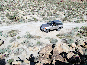 Our trusty Desert transport