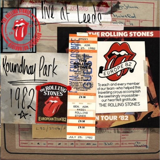 The Rolling Stones - Live At Leeds Roundhay Park 1982 (2012)