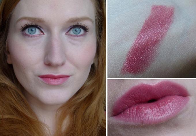 YR Lippenstift Tragebild Swatch