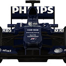 Williams Toyota FW31 front