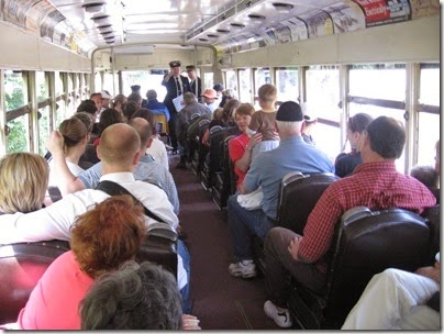 IMG_0535 Willamette Shore Trolley Interior on April 26, 2008