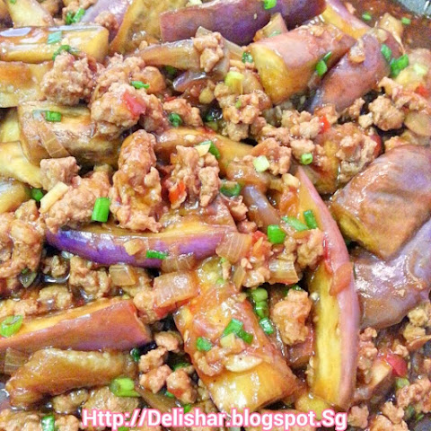 Spicy Eggplant and Minced Pork