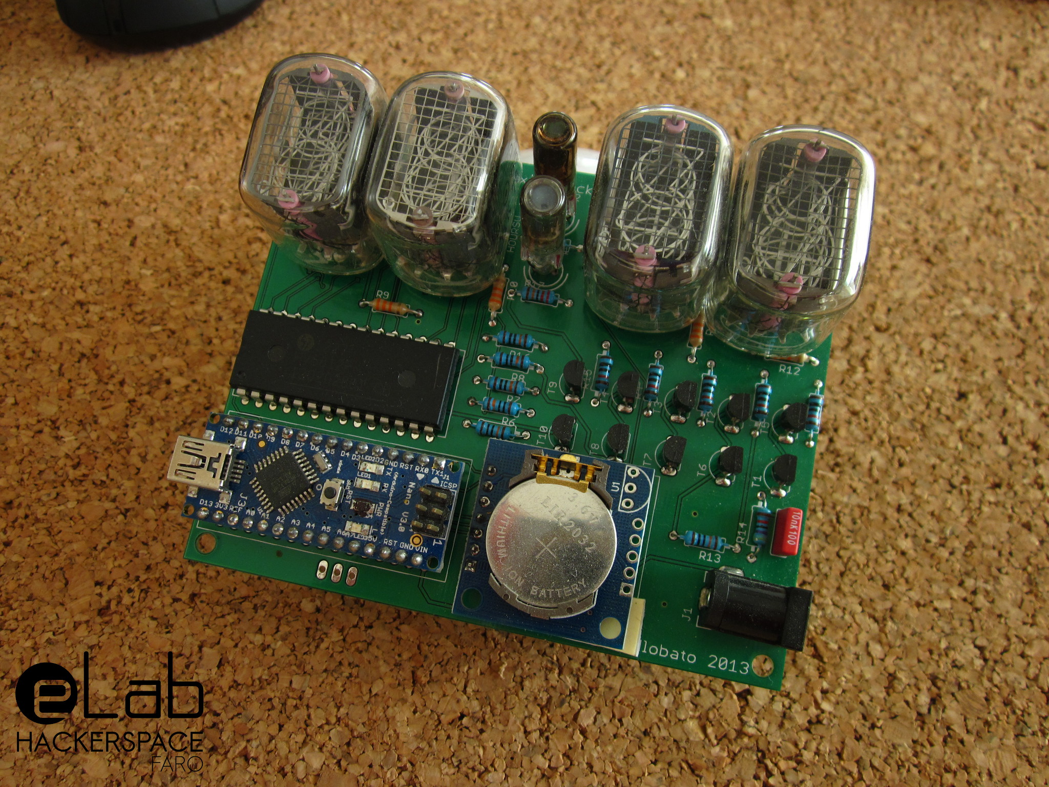 Playing With Nixies Yet Another Nixie Clock Elab Hackerspace Electronics Projects April 2013 This Project Was Shown At Lisbon Maker Faire 2015 Where It Attracted The Attention Of Senior Makers That Remembered Old Days When Used On