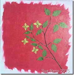 Sue Reno, Kousa Dogwood, Work In Progress, Image 10