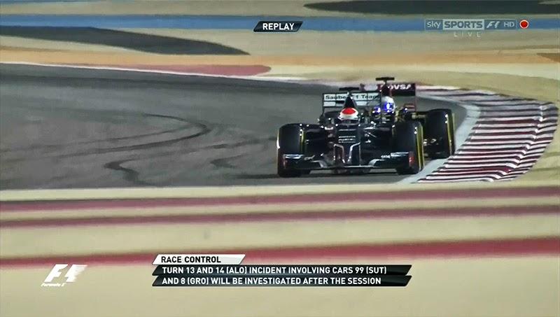 повотор 14 имени Фернандо Алонсо - ошибка в графике Формулы-1 на Гран-при Бахрейна 2014