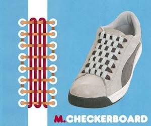 Memasang Tali Sepatu dengan Trik Check Board