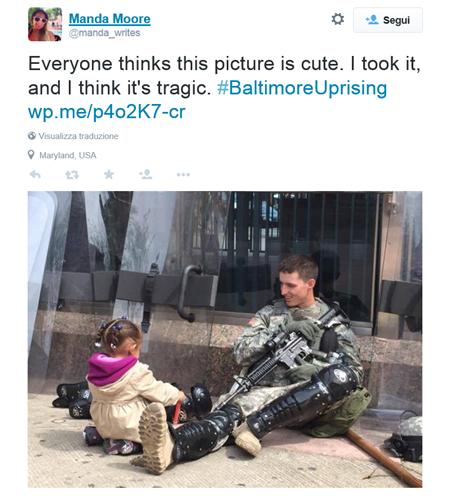 la bambina e la guerra