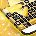 Neon Gold For GO Keyboard APK for Bluestacks