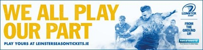 Leinster Play Your part