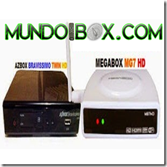 Transformación AZBOX BRAVISSIMO TWIN HD EN MEGABOX MG7 HD