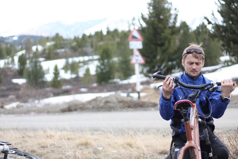 Улаганский перевал на велосипеде