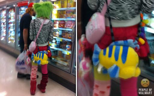 Coisas que você só vê... no Wal-Mart - Parte 9