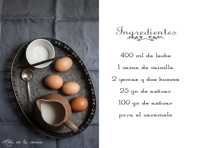 flan-ingredientes