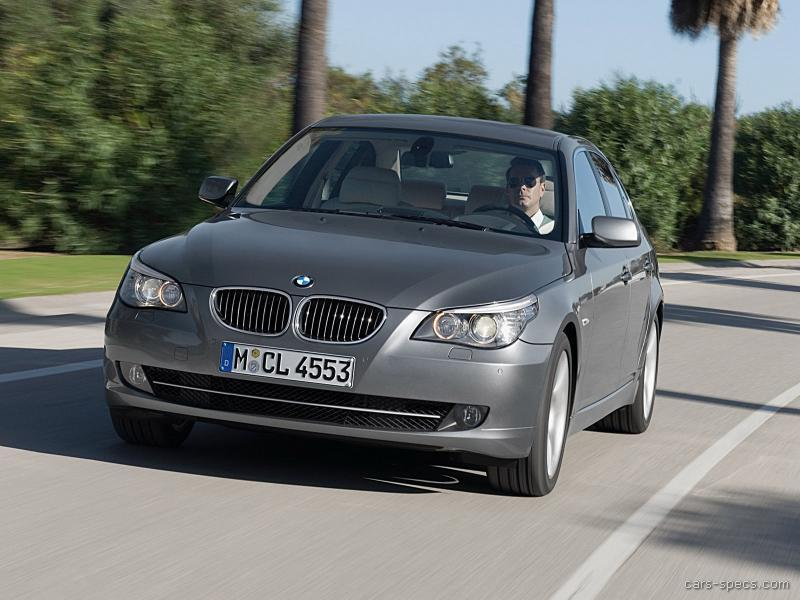 2008 bmw 5 series sedan specifications pictures prices. Black Bedroom Furniture Sets. Home Design Ideas