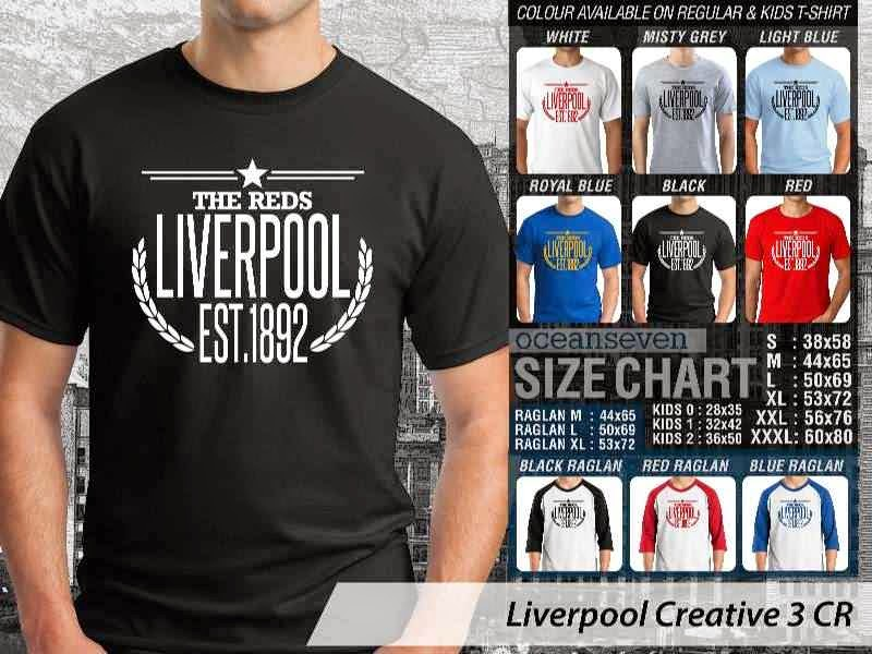 KAOS Liverpool 14 Liga Premier Inggris distro ocean seven