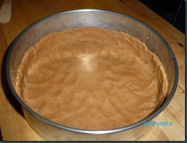 tarta de cerezas silvestres y gofio5 copia