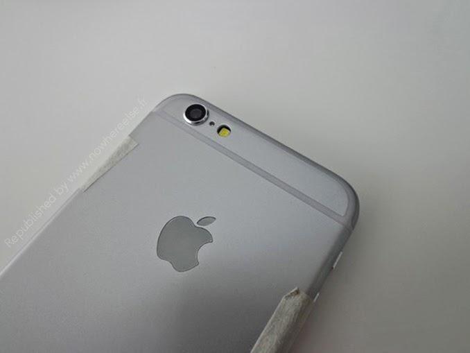 iPhone 6 strange camera