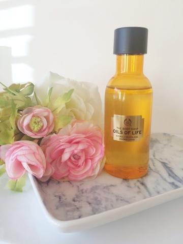 the body shop oils of life, the body shop essence lotion review, the body shop skincare, affordable skincare, skincare for oily skin, skincare for dehydrated skin, uk blogger, scottish beauty bloggerm