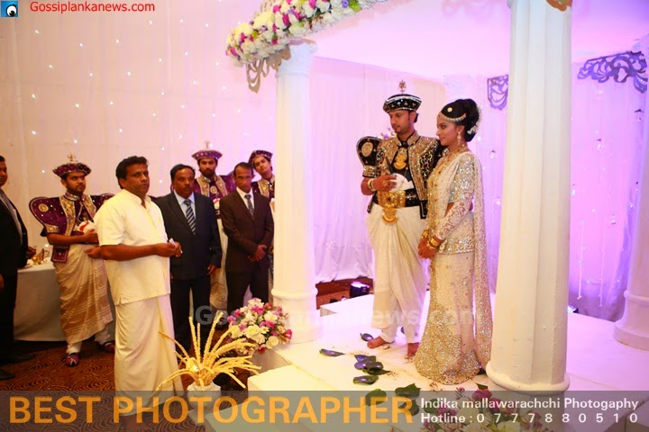 Ishara Sandaminis Wedding