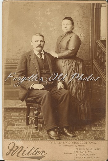 Great Grandpa Pryor and wife Melie DL ant