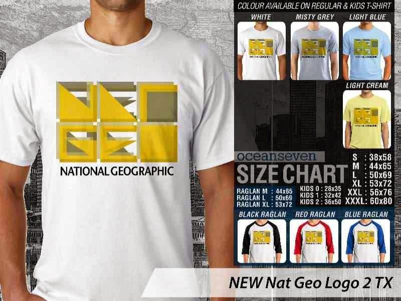 Kaos National Geographic NEW Nat Geo Logo 2 distro ocean seven