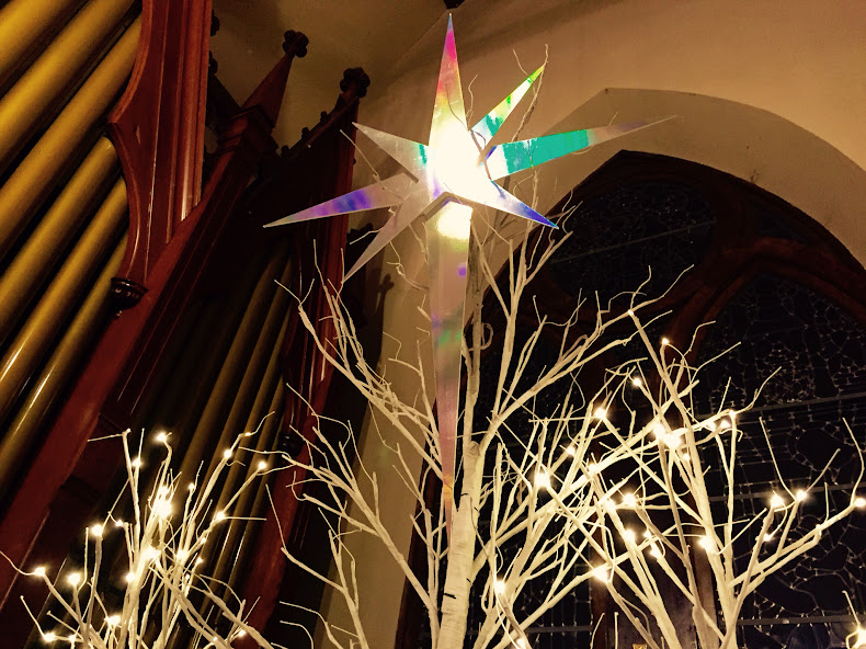 Christmas Star, St. James Anglican Church, Carleton Place