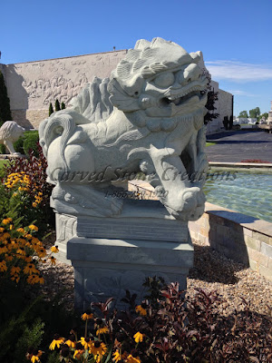 Chinese Guardian Lion Pair (Foo Dogs) 6-FT Tall