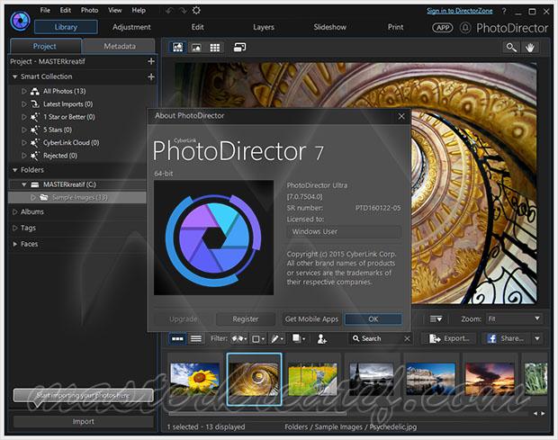 CyberLink PhotoDirector 7 Suite